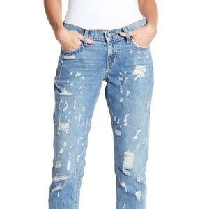 Derek Lam 10 Crosby Distressed Denim